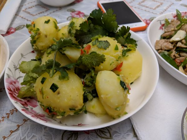 Hunan Style Healthy Potatoes